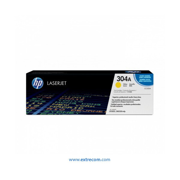 HP 304A amarillo original
