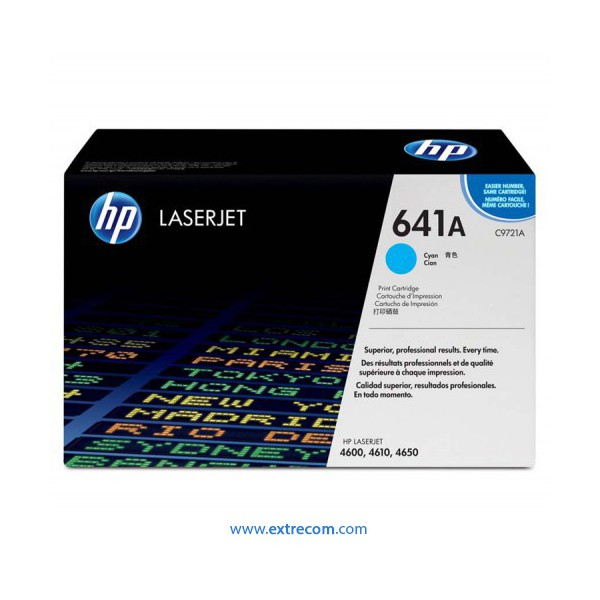 HP 641A cian original