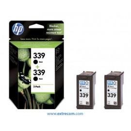HP 339 pack 2 unidades negro original