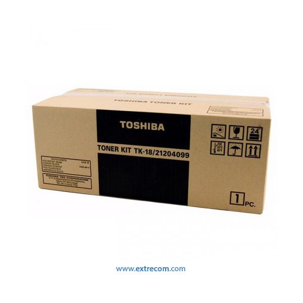 toshiba negro tk-18