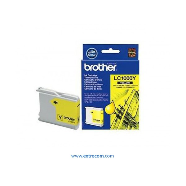 Brother LC1000Y amarillo original