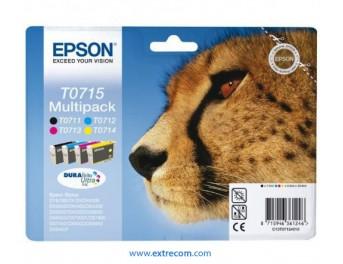 Epson T0715 pack 4 colores original