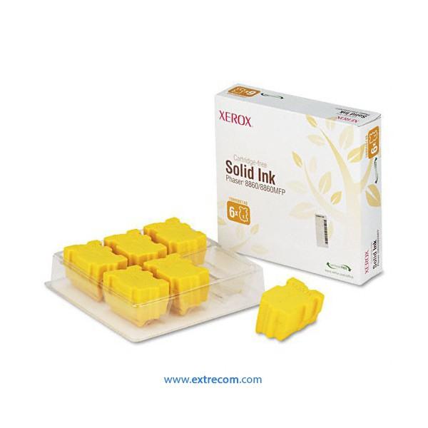 Xerox 8860/8860mfp amarillo solido original - pack 6