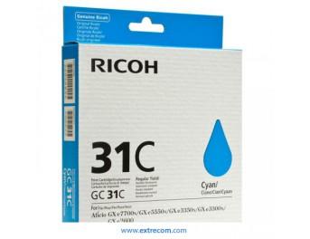 Ricoh GC31C cian original