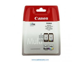 Canon PG-545/CL-546 pack 2 cartuchos original