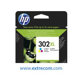 hp 302 xl color original - cartuchos de tinta hp