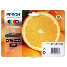 Epson 33 Multipack 4 colores + negro foto