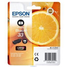 Epson 33 Negro foto Original