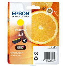 Epson 33 Amarillo Original