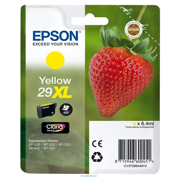 Epson 29 XL amarillo original