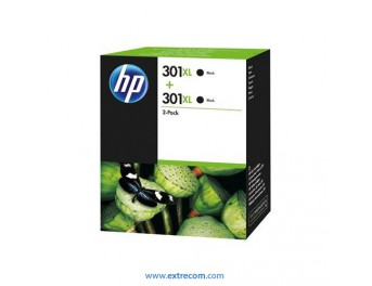 HP 301 XL pack 2 unidades negro original