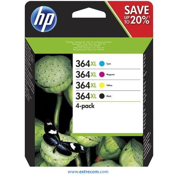 HP 364 XL pack original