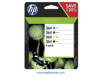 HP 364 pack 4 colores original