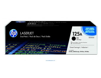 HP 125A pack 2 negro original