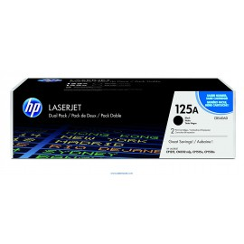 Hp 125A Negro pack de dos original