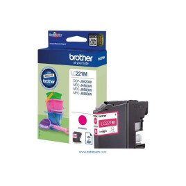 Brother LC221M Magenta