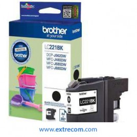 Brother LC221BK Negro
