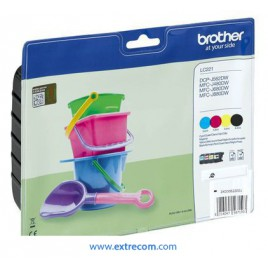 Brother LC221 pack 4 colores