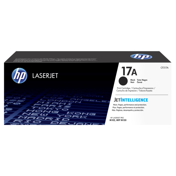 HP 17A negro original