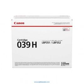 Canon 039 H negro original