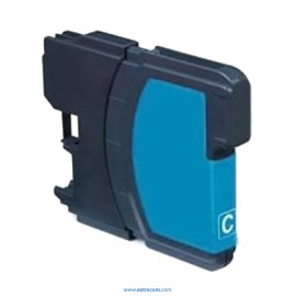 Brother LC1000C cian compatible