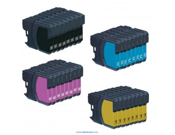 Brother LC1000 pack 32 unidades compatible