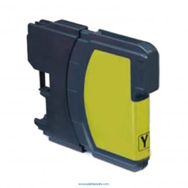 Brother LC121/123Y amarillo compatible