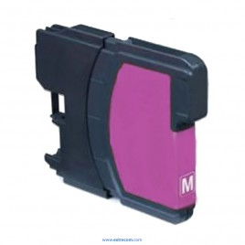 Brother LC121/123BK magenta compatible