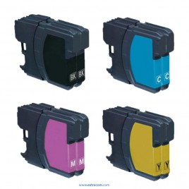 Brother LC121/123 pack 8 unidades compatible