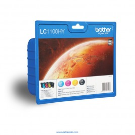 Brother LC1100hyVALBP pack 4 colores original
