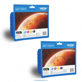 Brother LC1100HYVALBP 2x pack 4 colores original