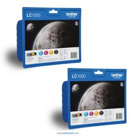 Brother LC1000VALBP 2x pack 4 colores original