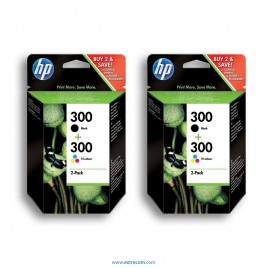 HP 300 2x pack 2 unidades original