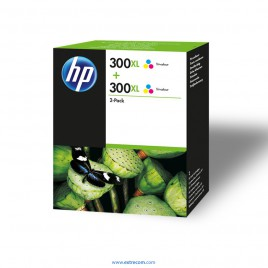 HP 300 XL pack 2 color original