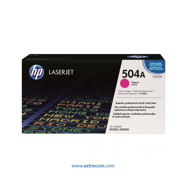 HP 504A magenta original
