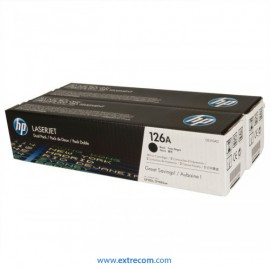 HP 126A pack 2 negro original