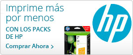 Packs Cartuchos HP
