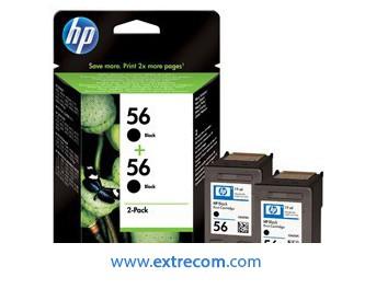 HP 56 pack 2 unidades negro original