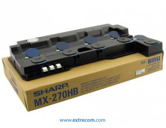 sharp bote de residuos mx-2300
