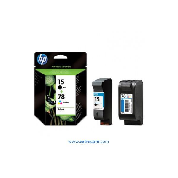 HP 15 + 78 pack original