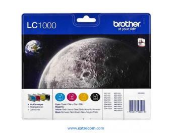 Brother LC1000VALBP pack 4 colores original
