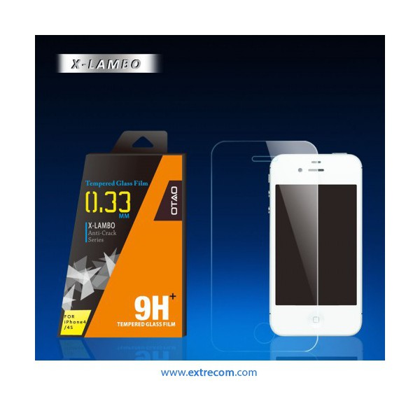 protector de pantalla purple metálic iphone5