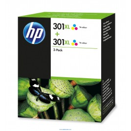hp pack 301 XL Color