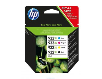 HP 932/933 XL pack 4 colores original