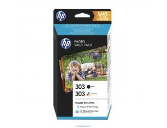 HP 303 pack 2 unidades original