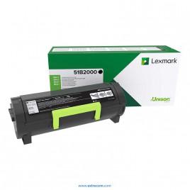 Lexmark 51B2000 negro original