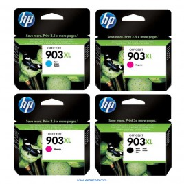 HP 903XL pack 4 colores original