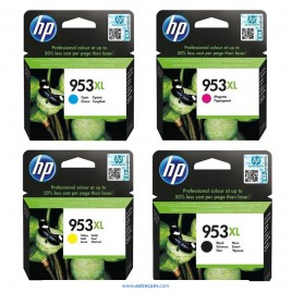 HP 953XL pack 4 colores original
