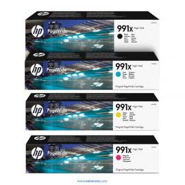 HP 991X pack 4 colores original