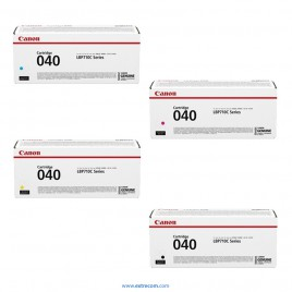 Canon PK040 pack 4 colores original